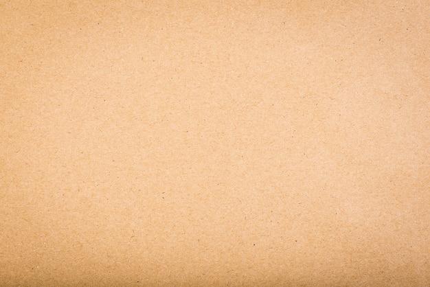 Textura de papel - fundo marrom da folha de kraft.