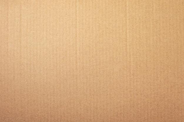 Textura de papel marrom ou fundo de papelão