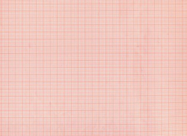 Textura de papel milimetrado vermelho
