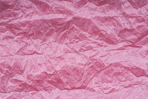 Textura de papel ofício amassado branco, fundo