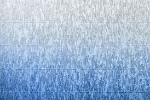 Textura de papel ondulado azul e branco com gradiente