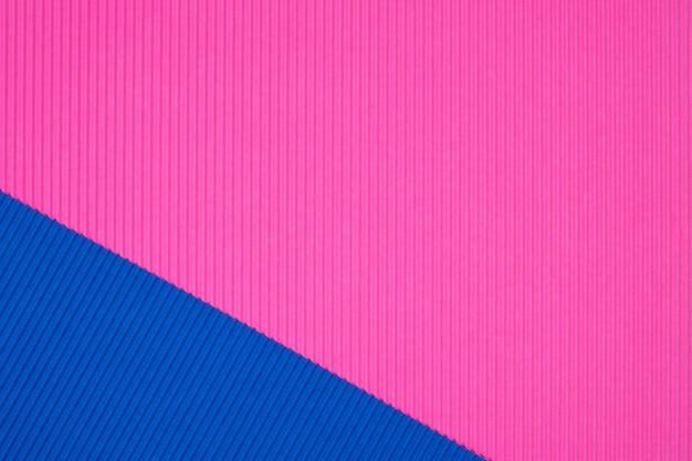 Textura de papel ondulado azul e rosa