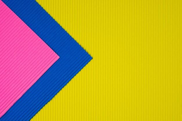 Textura de papel ondulado de cor multi