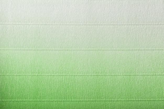 Textura de papel ondulado verde e branco com gradiente