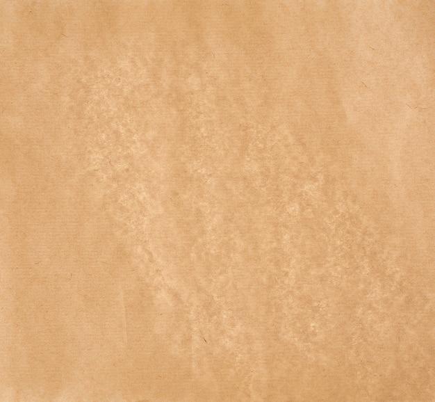 Textura de papel pergaminho liso marrom claro, moldura completa