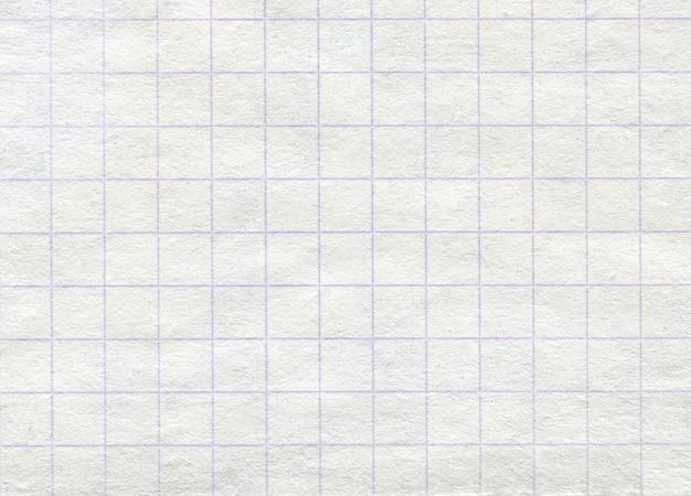 Textura de papel quadriculado de fundo