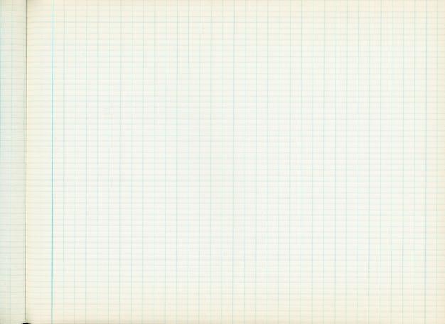 Textura de papel quadriculado