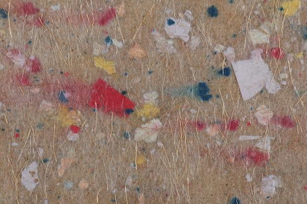 Textura de papel reciclado artesanal.