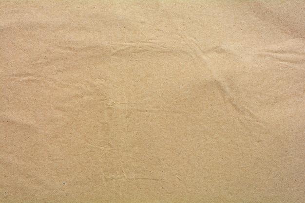 Textura de papel reciclado marrom natural - fundo
