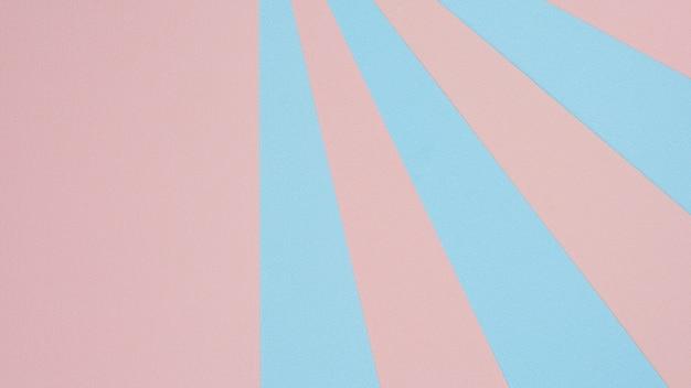 Textura de papel rosa e azul - fundo