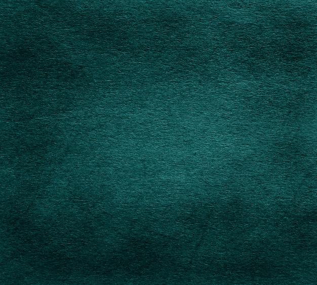 Textura de papel verde escuro velho