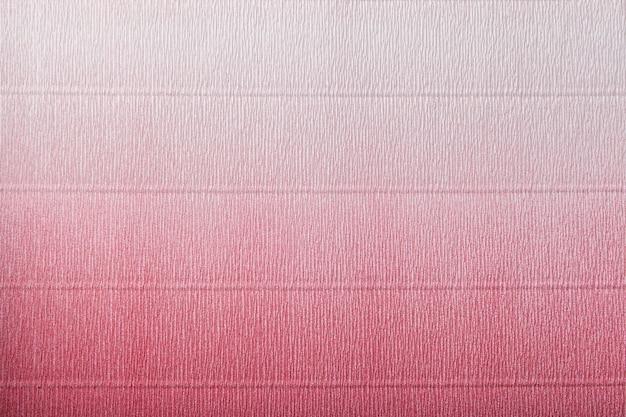 Textura de papel vermelho e branco ondulado com gradiente