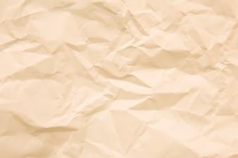 Textura de papelão enrugada