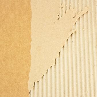 Textura de papelão grunge quebrada