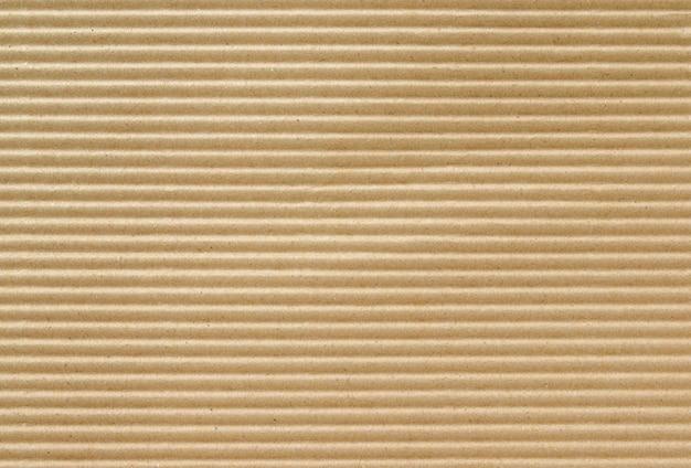 Textura de papelão ondulada e fundo