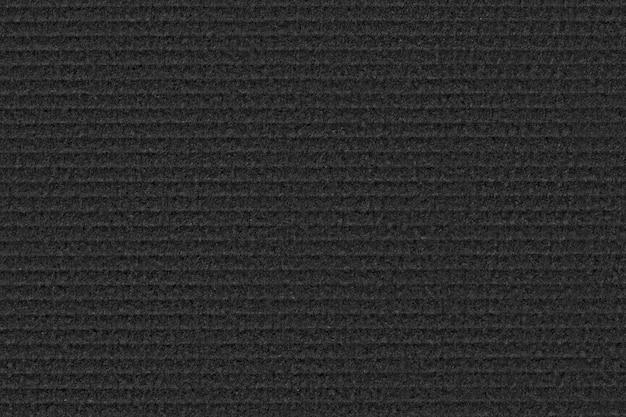 Textura de papelão preta.