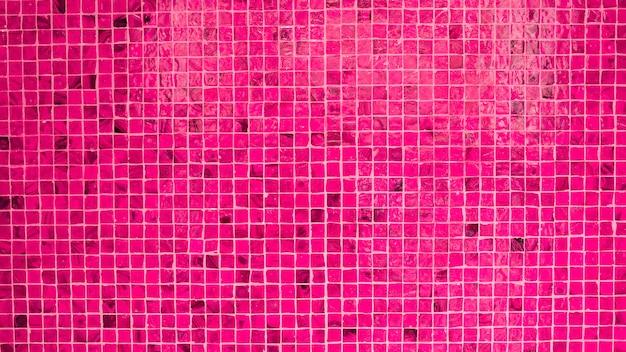 Textura de parede cerâmica rosa - fundo