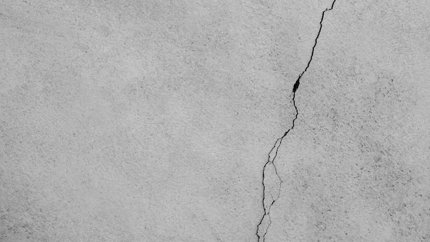 Textura de parede de cimento de crack - fundo