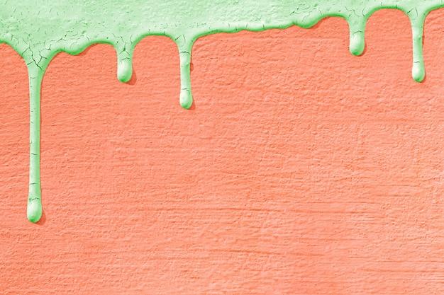 Textura de parede de concreto com gotas de tinta.