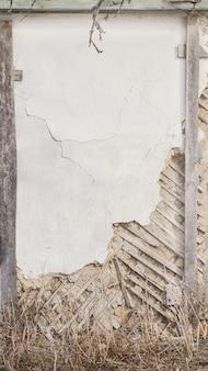 Textura de parede de concreto com rachaduras