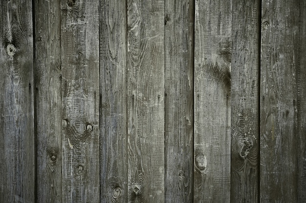 Textura de parede de madeira cinza escuro velho