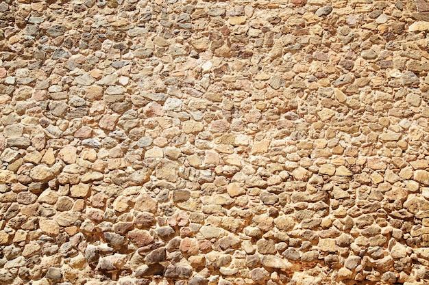 Textura de parede de pedra antiga, pode ser usada como plano de fundo