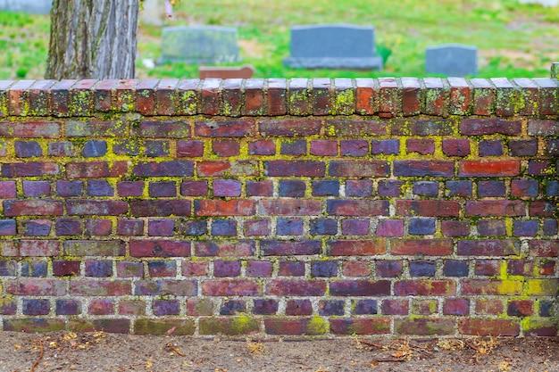 Textura de parede de tijolo antigo