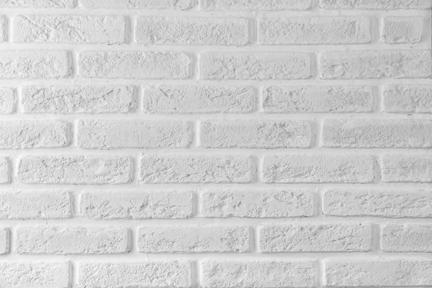 Textura de parede de tijolo branco moderno para segundo plano.