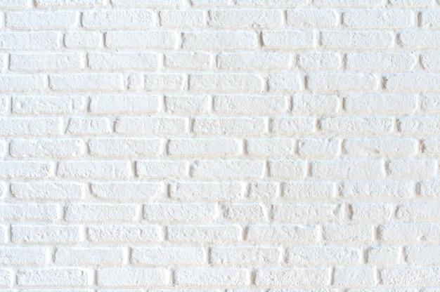 Textura de parede de tijolo branco padrão abstrato moderno para arquitetura de design de interiores