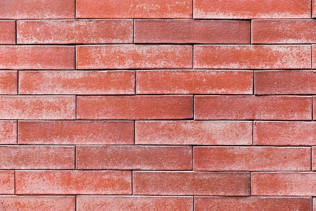 Textura de parede de tijolo close-up