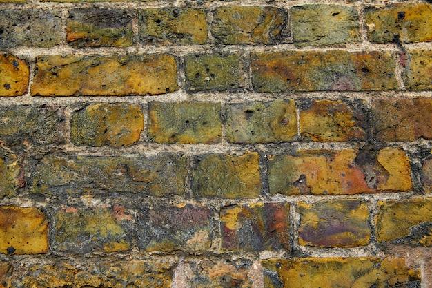 Textura de parede de tijolo de brickwall de londres