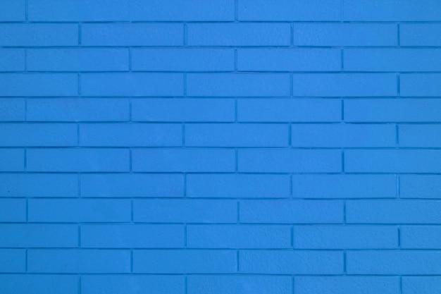 Textura de parede de tijolo de cor azul para imagens de fundo gráfico