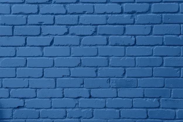 Textura de parede de tijolo de hortelã. fundo com espaço de cópia para o projeto. cor azul e calma na moda.