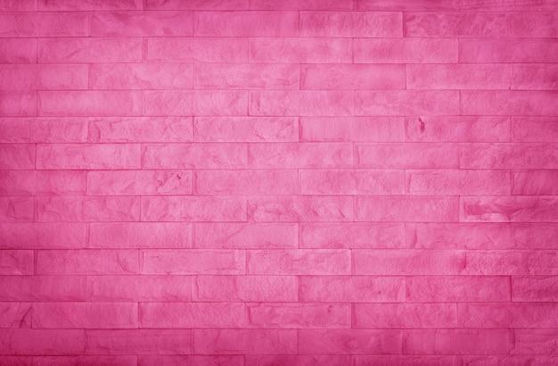 Textura de parede de tijolo rosa claro, padrão de pedra de ardósia de cor pastel.