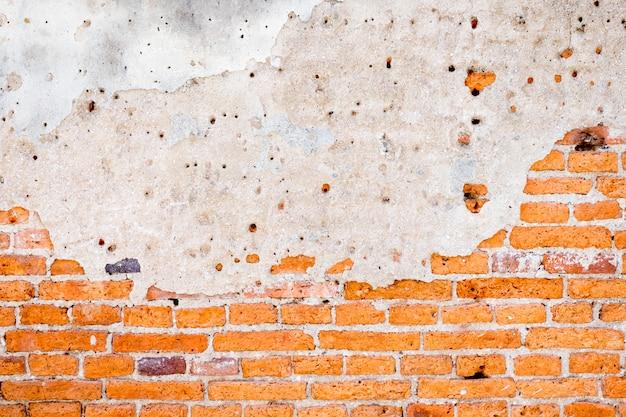 Textura de parede de tijolo velho grunge e fundo