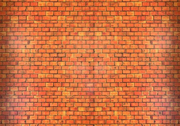 Textura de parede de tijolo vermelho rústico velho