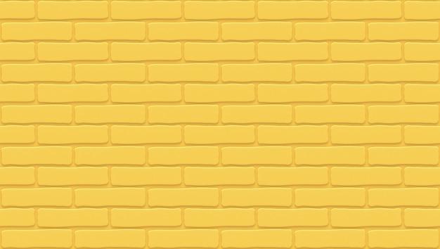 Textura de parede de tijolos amarelos. fundo vazio. stonewall vintage.