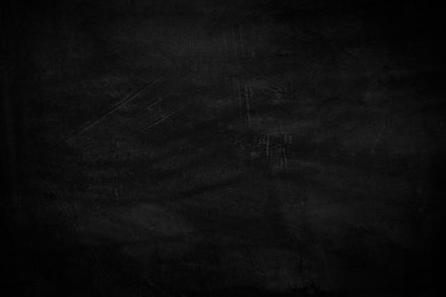 Textura de parede preta com fundo áspero, piso de concreto escuro ou fundo grunge antigo com preto
