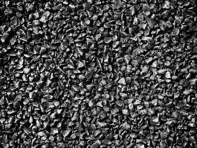 Textura de pavimento de asfalto com pequenas pedras