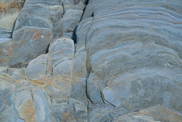 Textura de pedra ardósia em playa las catedrales ribadeo