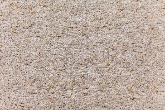 Textura de pedra bege, musgo amarelo na pedra