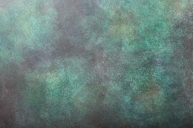 Textura de pedra concreta verde do fundo.