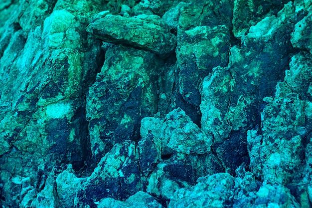 Textura de pedra de luxo natural e plano de fundo para o design em água-marinha