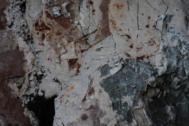 Textura de pedra, natureza, toner escuro