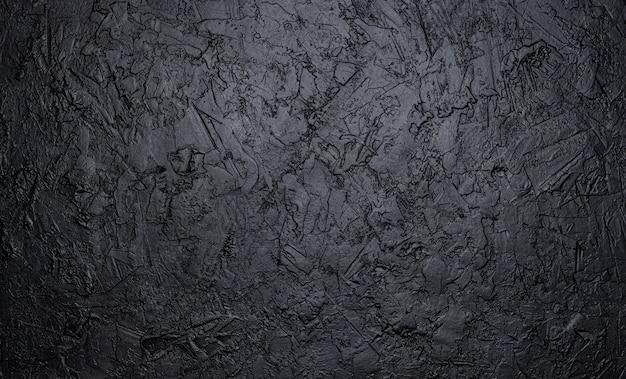 Textura de pedra preta, fundo de ardósia escura