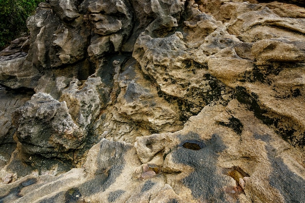 Textura de pedra velha costeira. papel de parede de rock.