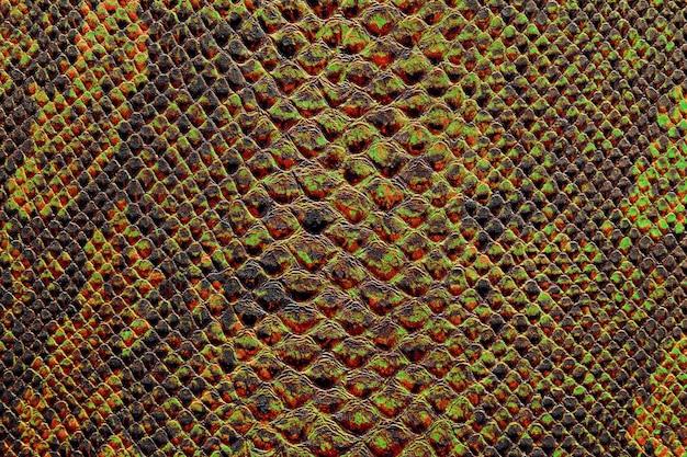 Textura de pele de cobra