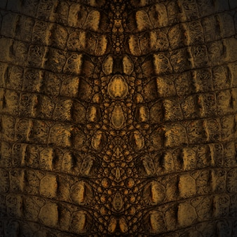 Textura de pele de crocodilo
