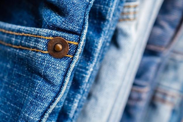 Textura de pilha jeans jeans