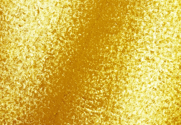 Textura de pintura dourada